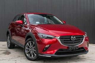 2019 Mazda CX-3 DK2W7A Akari SKYACTIV-Drive FWD LE Soul Red Crystal 6 Speed Sports Automatic Wagon.