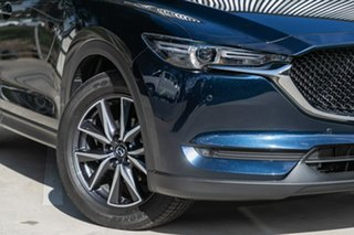 2019 Mazda CX-5 KF4WLA GT SKYACTIV-Drive i-ACTIV AWD Deep Crystal Blue 6 Speed Sports Automatic.