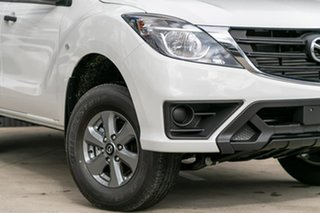 2019 Mazda BT-50 UR0YG1 XT Cool White 6 Speed Sports Automatic Utility.
