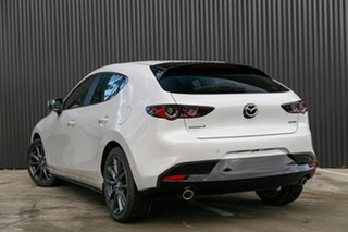 2019 Mazda 3 BP2HLA G25 SKYACTIV-Drive Evolve Snowflake White Pearl 6 Speed Sports Automatic