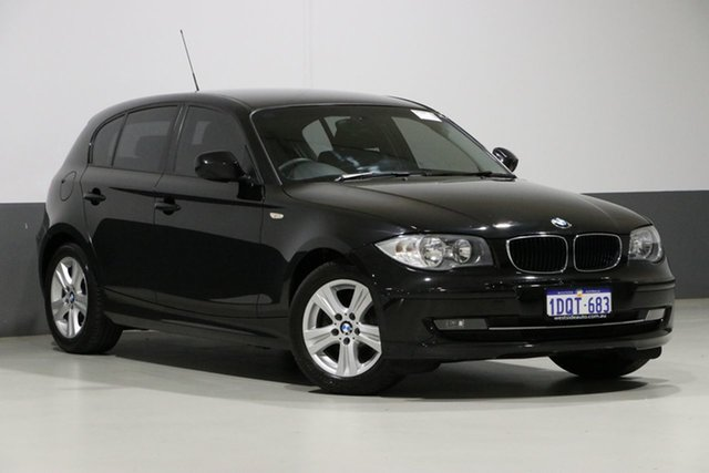 Used BMW 118i E87 MY11 , 2011 BMW 118i E87 MY11 Black 6 Speed Automatic Hatchback