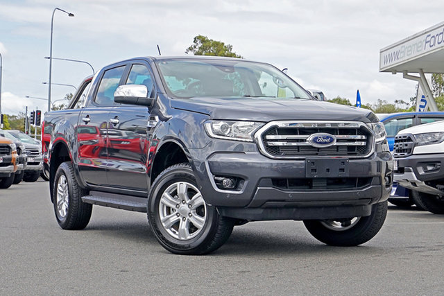 Used Ford Ranger PX MkIII 2019.00MY XLT Pick-up Double Cab, 2019 Ford Ranger PX MkIII 2019.00MY XLT Pick-up Double Cab Grey 10 Speed Sports Automatic Utility