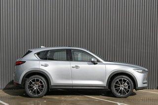 2019 Mazda CX-5 KF4WLA Akera SKYACTIV-Drive i-ACTIV AWD Sonic Silver 6 Speed Sports Automatic Wagon.