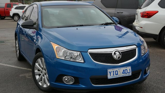 Used Holden Cruze JH Series II MY12 CDX, 2012 Holden Cruze JH Series II MY12 CDX Blue 6 Speed Sports Automatic Sedan