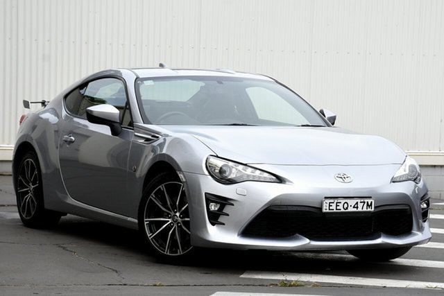 Used Toyota 86 ZN6 GTS, 2018 Toyota 86 ZN6 GTS Silver 6 Speed Sports Automatic Coupe