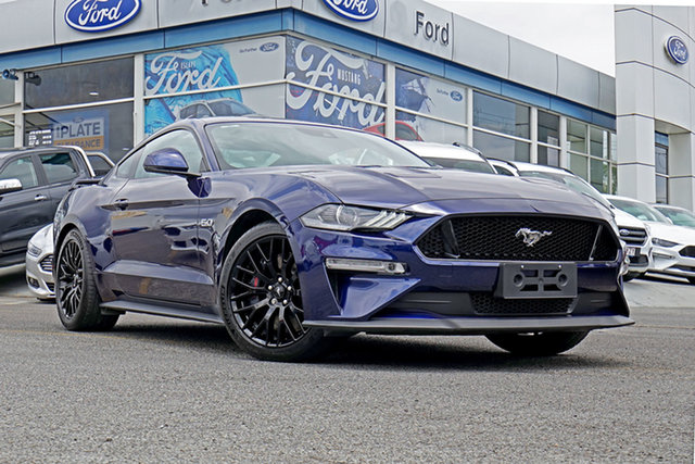 Used Ford Mustang FN 2018MY GT Fastback SelectShift, 2018 Ford Mustang FN 2018MY GT Fastback SelectShift Kona Blue 10 Speed Sports Automatic Fastback