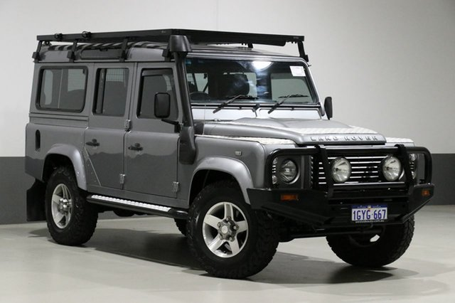 Used Land Rover Defender MY11 110 (4x4), 2012 Land Rover Defender MY11 110 (4x4) Grey 6 Speed Manual Wagon