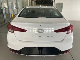 2018 Hyundai Elantra AD.2 MY19 Go Polar White 6 Speed Sports Automatic Sedan