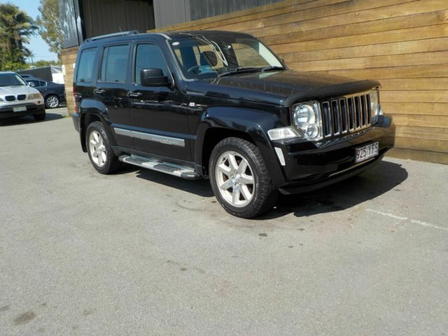 Used Jeep Cherokee KK MY10 Limited, 2010 Jeep Cherokee KK MY10 Limited Black 5 Speed Sports Automatic Wagon
