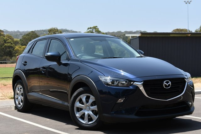 Used Mazda CX-3 DK2W76 Neo SKYACTIV-MT, 2016 Mazda CX-3 DK2W76 Neo SKYACTIV-MT Dark Blue 6 Speed Manual Wagon