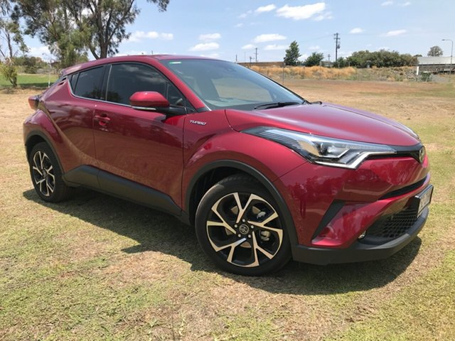 Demo Toyota C-HR NGX10R Koba S-CVT 2WD, 2019 Toyota C-HR NGX10R Koba S-CVT 2WD Atomic Rush 7 Speed Constant Variable Wagon