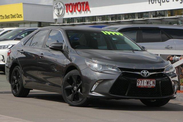 Used Toyota Camry ASV50R Atara SX, 2015 Toyota Camry ASV50R Atara SX Graphite 6 Speed Sports Automatic Sedan