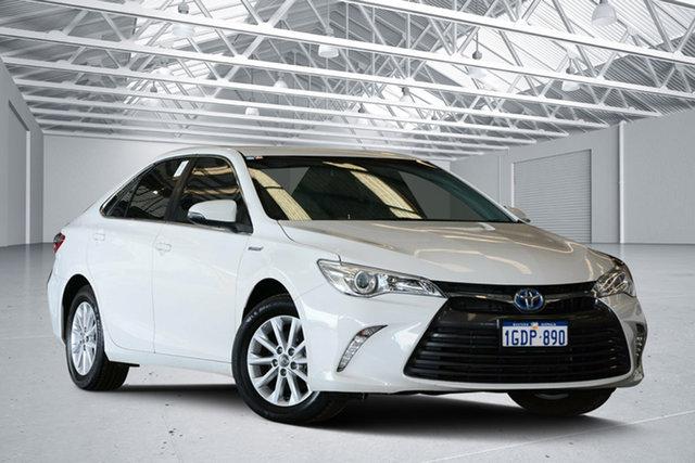 Used Toyota Camry AVV50R MY15 Altise Hybrid, 2016 Toyota Camry AVV50R MY15 Altise Hybrid Diamond White Continuous Variable Sedan