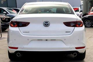 2019 Mazda 3 BP2SLA G25 SKYACTIV-Drive GT Snowflake White Pearl 6 Speed Sports Automatic Sedan.