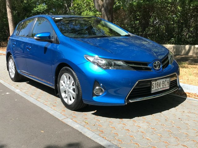 Used Toyota Corolla ZRE182R Ascent Sport S-CVT, 2014 Toyota Corolla ZRE182R Ascent Sport S-CVT Blue 7 Speed Constant Variable Hatchback