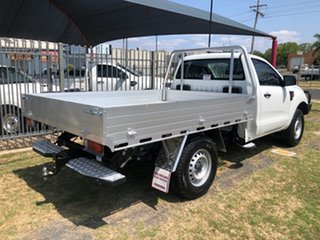 2015 Ford Ranger PX XL 3.2 (4x4) White 6 Speed Automatic Cab Chassis.