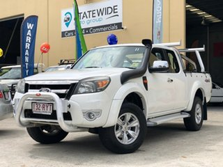 2011 Ford Ranger PK XLT (4x4) White 5 Speed Automatic Super Cab Utility.