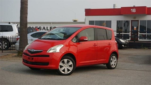 Used Toyota Ractis Cheltenham, 2007 Toyota Ractis SCP100 Red 1 Speed Constant Variable Wagon