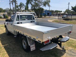 2015 Ford Ranger PX XL 3.2 (4x4) White 6 Speed Automatic Cab Chassis