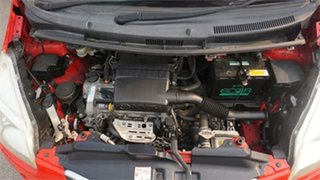 2007 Toyota Ractis SCP100 Red 1 Speed Constant Variable Wagon