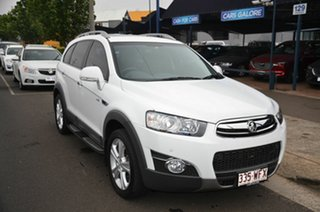 2013 Holden Captiva CG MY13 7 LX (4x4) White 6 Speed Automatic Wagon.