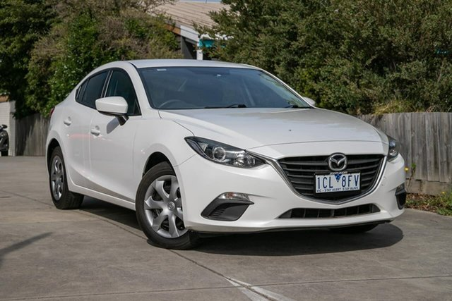 Used Mazda 3 BM5276 Neo SKYACTIV-MT, 2014 Mazda 3 BM5276 Neo SKYACTIV-MT White 6 Speed Manual Sedan