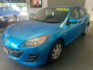 2011 Mazda 3 BL 10 Upgrade Neo Blue 5 Speed Automatic Hatchback.