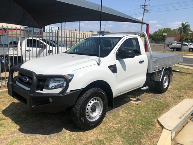 Used Ford Ranger PX XL 3.2 (4x4), 2015 Ford Ranger PX XL 3.2 (4x4) White 6 Speed Automatic Cab Chassis