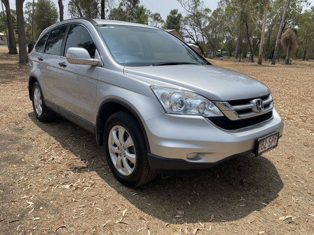 Used Honda CR-V 30 VTi (4x4), 2012 Honda CR-V 30 VTi (4x4) Silver 5 Speed Automatic Wagon