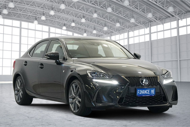 Used Lexus IS GSE31R IS350 F Sport, 2017 Lexus IS GSE31R IS350 F Sport Black 8 Speed Sports Automatic Sedan