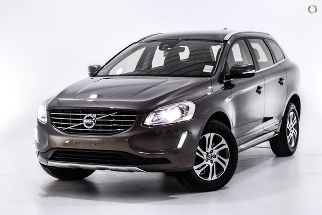 Used Volvo XC60 DZ MY15 D4 Geartronic Kinetic, 2015 Volvo XC60 DZ MY15 D4 Geartronic Kinetic Bronze 8 Speed Sports Automatic Wagon