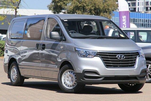 New Hyundai iLOAD TQ4 MY21 Crew Cab Moorooka, 2020 Hyundai iLOAD TQ4 MY21 Crew Cab Creamy White 5 Speed Automatic Van