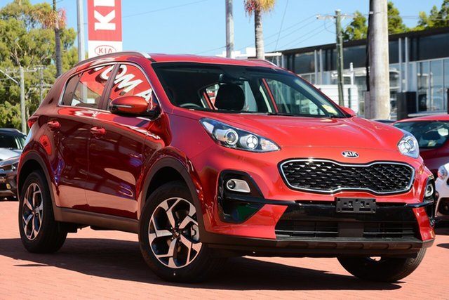 New Kia Sportage QL MY21 S 2WD Mount Barker, 2021 Kia Sportage QL MY21 S 2WD Fiery Red 6 Speed Sports Automatic Wagon