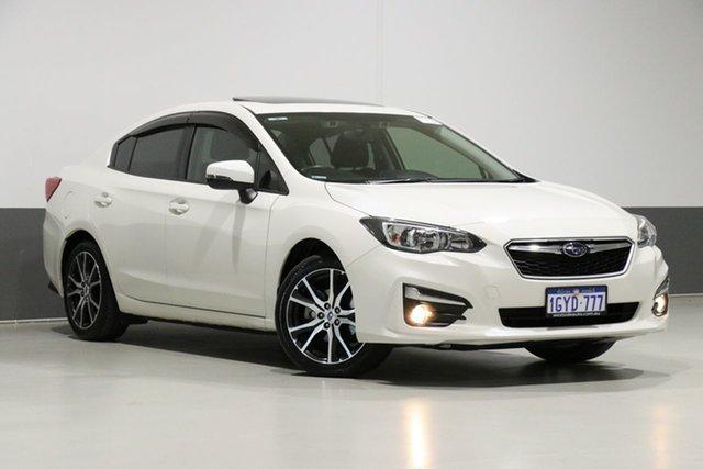Used Subaru Impreza MY18 2.0I Premium (AWD), 2018 Subaru Impreza MY18 2.0I Premium (AWD) Pearl White Continuous Variable Sedan