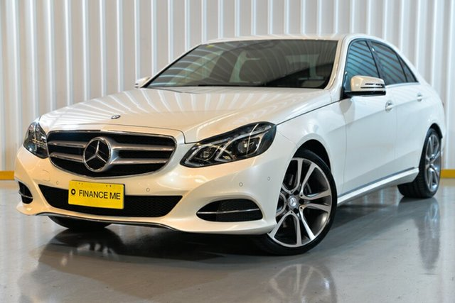 Used Mercedes-Benz E-Class W212 805MY E250 7G-Tronic +, 2014 Mercedes-Benz E-Class W212 805MY E250 7G-Tronic + White 7 Speed Sports Automatic Sedan