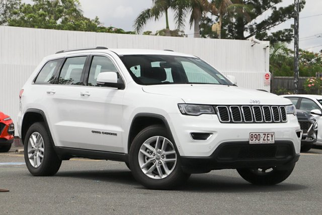 Used Jeep Grand Cherokee WK MY19 Laredo, 2019 Jeep Grand Cherokee WK MY19 Laredo Bright White 8 Speed Sports Automatic Wagon