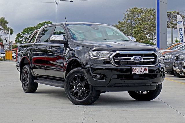 Used Ford Ranger PX MkIII 2019.75MY XLT Pick-up Double Cab, 2019 Ford Ranger PX MkIII 2019.75MY XLT Pick-up Double Cab Black 10 Speed Sports Automatic Utility