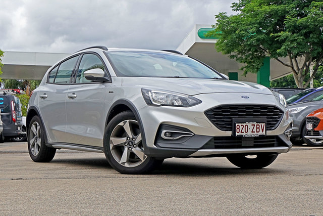Used Ford Focus SA 2019.25MY Active, 2019 Ford Focus SA 2019.25MY Active Moondust Silver 8 Speed Automatic Hatchback