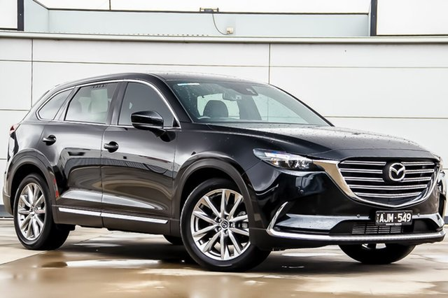 Used Mazda CX-9 TC GT SKYACTIV-Drive, 2016 Mazda CX-9 TC GT SKYACTIV-Drive Jet Black 6 Speed Sports Automatic Wagon