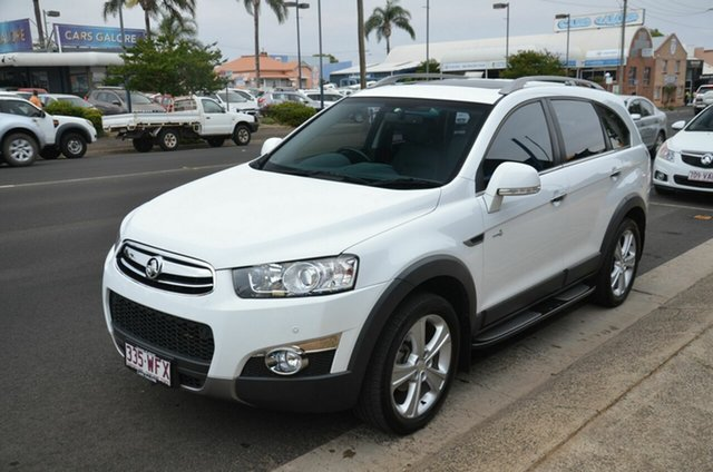 Used Holden Captiva CG MY13 7 LX (4x4) Toowoomba, 2013 Holden Captiva CG MY13 7 LX (4x4) White 6 Speed Automatic Wagon