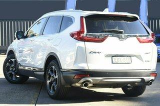 2018 Honda CR-V MY19 VTi-LX (AWD) White Continuous Variable Wagon.