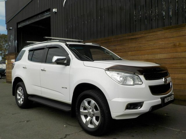 Used Holden Colorado 7 RG MY13 LTZ, 2013 Holden Colorado 7 RG MY13 LTZ White 6 Speed Sports Automatic Wagon