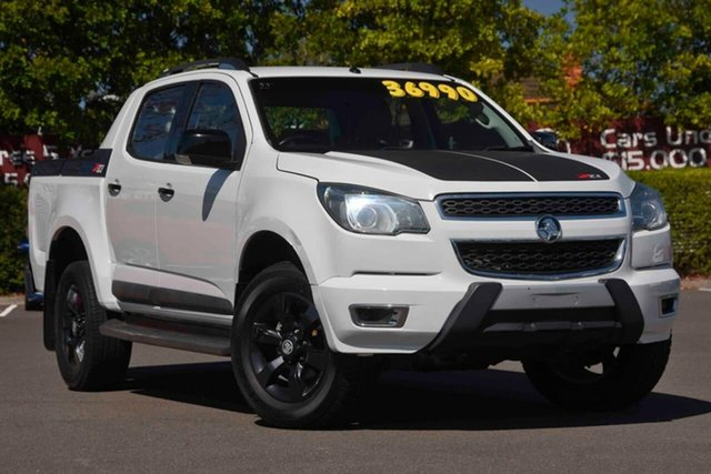 Used Holden Colorado RG MY16 Z71 Crew Cab, 2015 Holden Colorado RG MY16 Z71 Crew Cab White 6 Speed Sports Automatic Utility