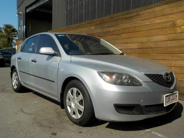 Used Mazda 3 BK10F2 Neo, 2006 Mazda 3 BK10F2 Neo Silver 5 Speed Manual Hatchback