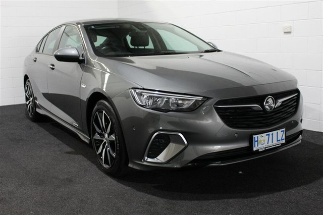 Used Holden Commodore ZB MY18 RS Liftback AWD, 2018 Holden Commodore ZB MY18 RS Liftback AWD Cosmic Grey 9 Speed Sports Automatic Liftback