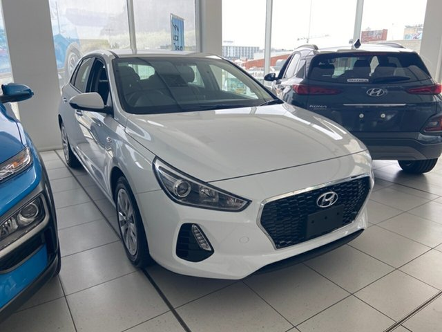 New Hyundai i30 PD.3 MY20 Go, 2019 Hyundai i30 PD.3 MY20 Go Polar White 6 Speed Manual Hatchback