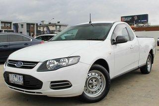2013 Ford Falcon FG MkII Ute Super Cab White 6 Speed Sports Automatic Utility.