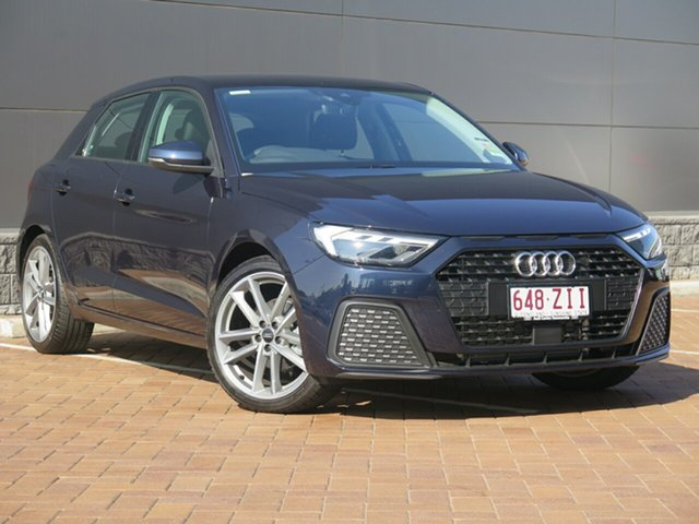 Demo Audi A1 GB MY20 35 TFSI Sportback S Tronic, 2019 Audi A1 GB MY20 35 TFSI Sportback S Tronic 7 Speed Sports Automatic Dual Clutch Hatchback