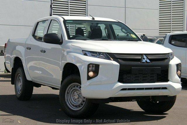 Demo Mitsubishi Triton MR MY19 GLX Double Cab, 2019 Mitsubishi Triton MR MY19 GLX Double Cab White 6 Speed Manual Utility