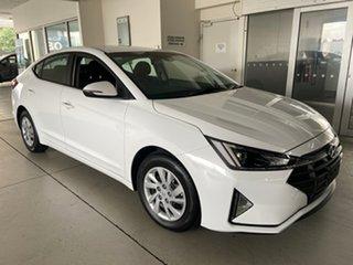 2018 Hyundai Elantra AD.2 MY19 Go Polar White 6 Speed Sports Automatic Sedan.